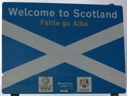 Welcome Scotland